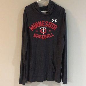 Minnesota Twins, Under Armour hoodie, XXL